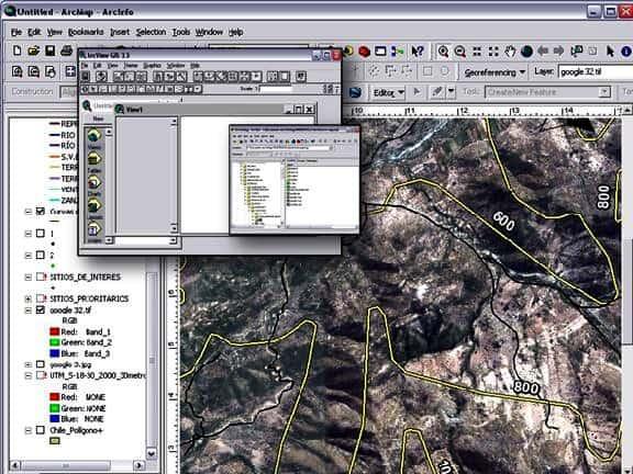 Sistema de información geográfico sig Cartografía y mapas